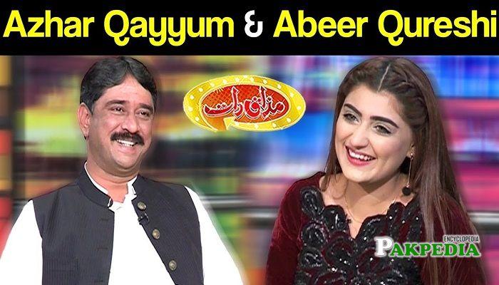Azhar Qayyum in Mazakraat