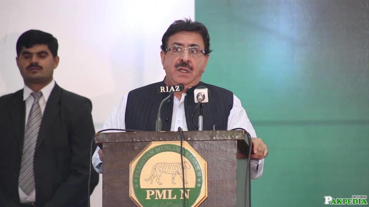 Raja Ashfaq Sarwar member of PMLN