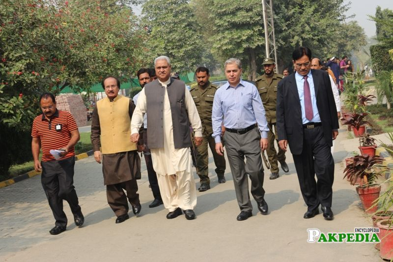 Visited NTU Faisalabad