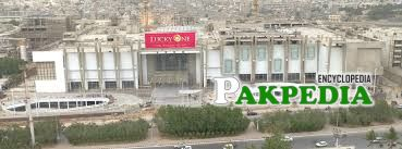 Areal view of Lucky One Mall