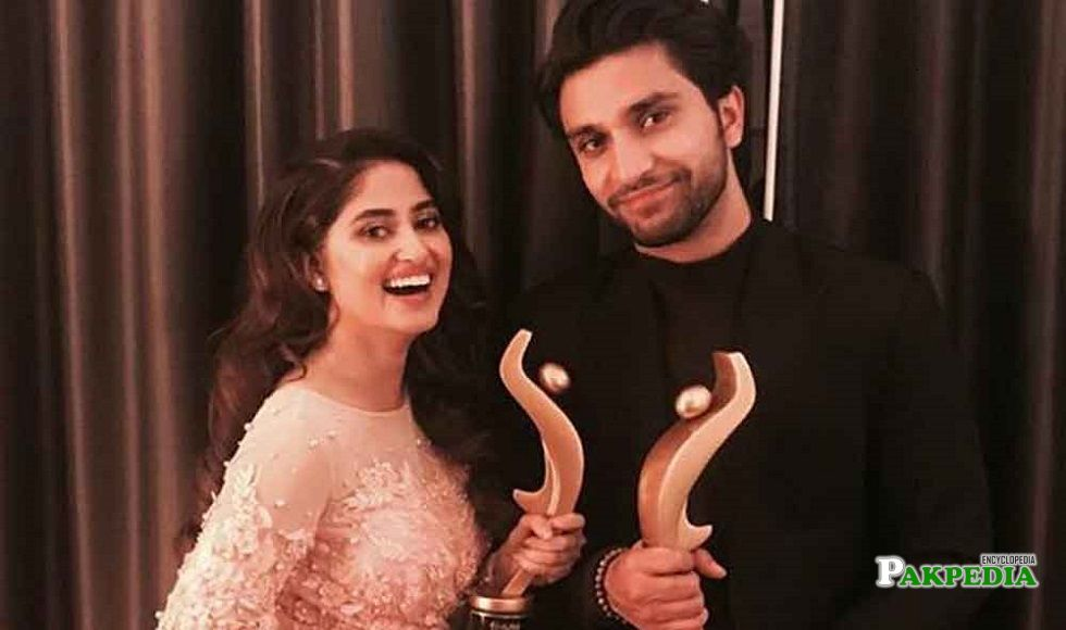 Ahad Raza Mir at hum awards 2018