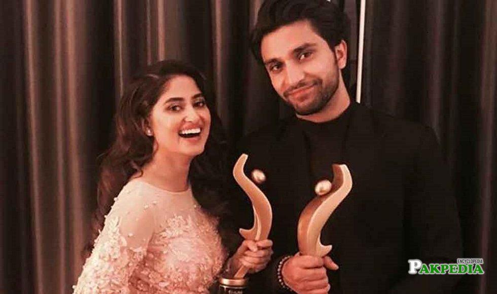 Ahad Raza Mir at hum awards 2018