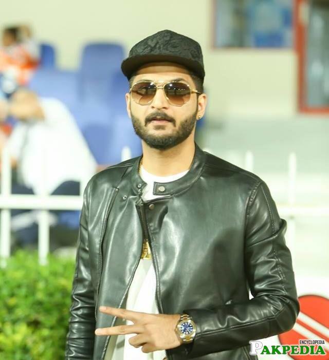 Bilal Saeed in black cap