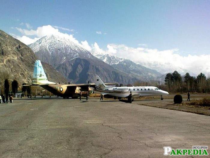 Gilgit Airport Runway
