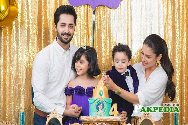 Ayeza Khan Family