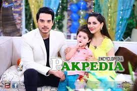 Fatima Effendi in a ARY Show with her family