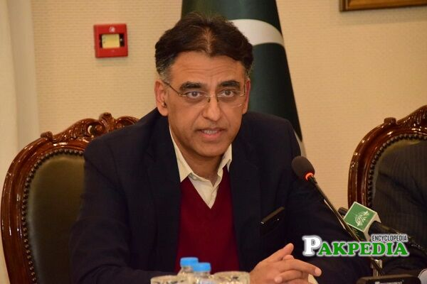 Asad Umar Biography