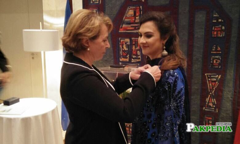 Awarded with French National order of Merit