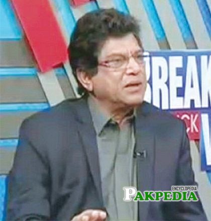 retired Brigadier Asad Munir