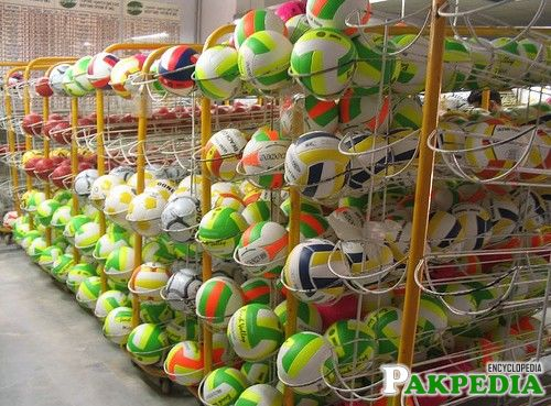 Football Manfacture in Sialkot