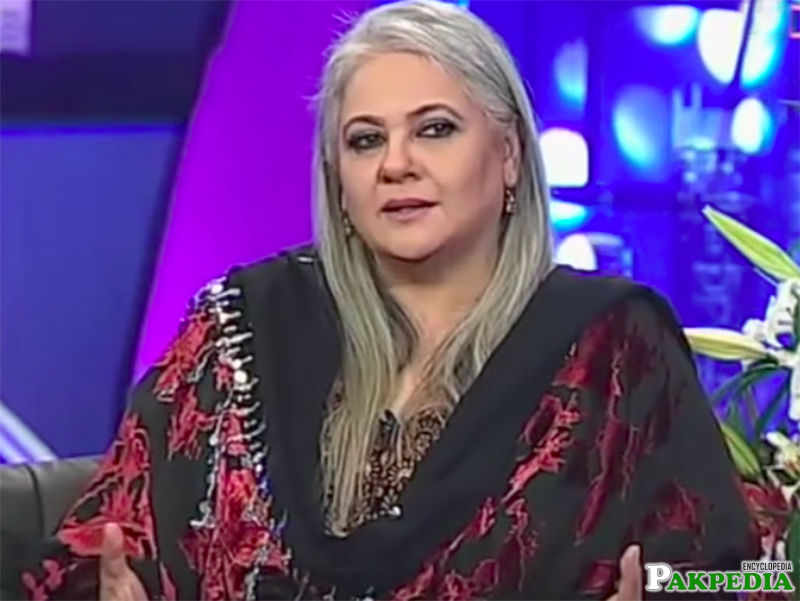 Shehnaz Sheikh in a TV Show