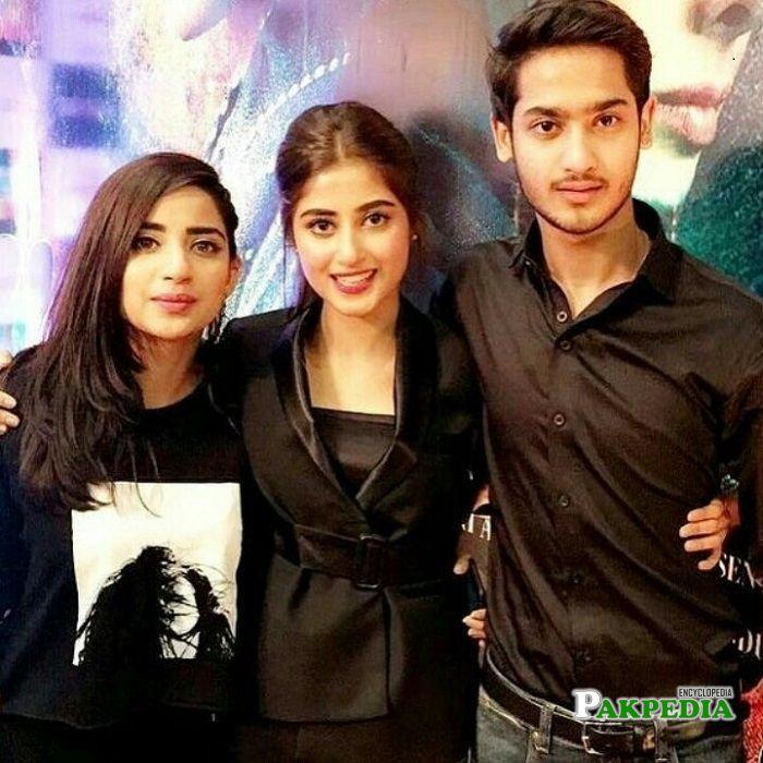 Sajal Ali family