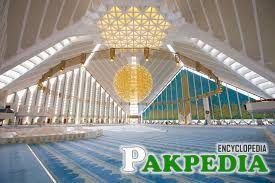 Inside view of Faisal Masjid