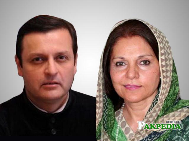Waleed Iqbal and Seemi ezdi wins the Senate seat