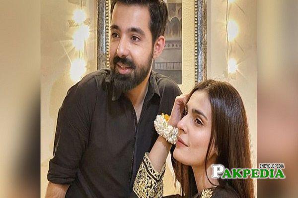 Hassan Hayat Khan and Sadia Gaffar got married