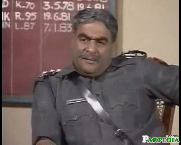 Jamil Fakhri's role of Police inspector