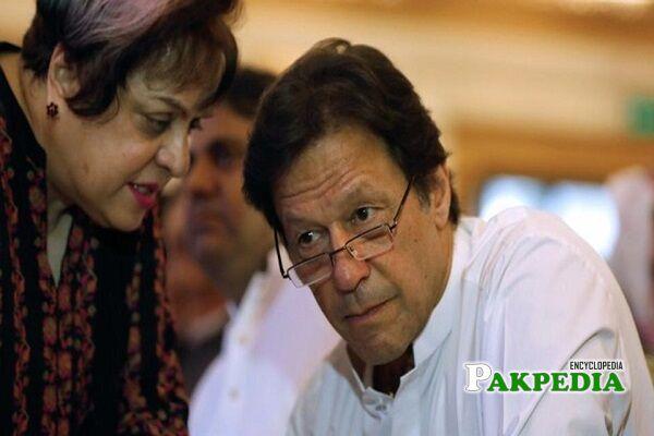 Shireen Mazari PTI