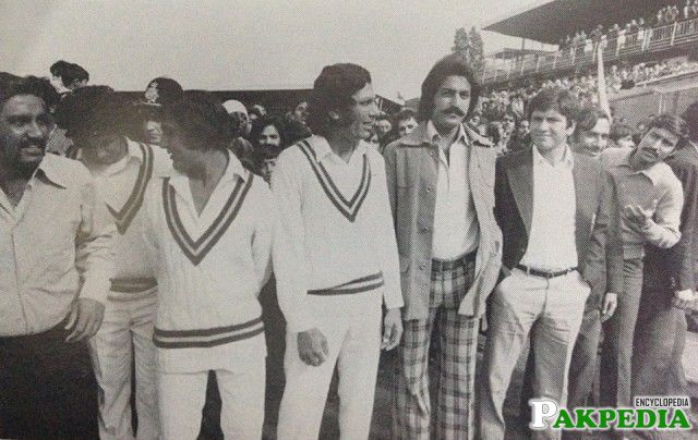 Asif Masood in Test Match