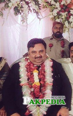 Elected as President of the Bahawalpur High Court Bar Association