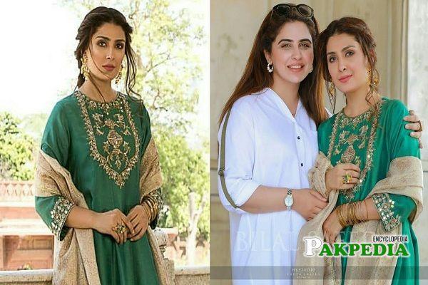 Faiza Saqlain with Ayeza Khan