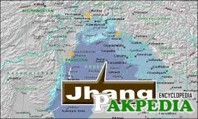 Jhang city map