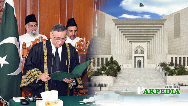 Asif saeed khosa will take oath on 18th January
