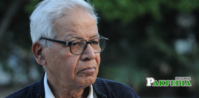 Human right activist Hussain Naqi