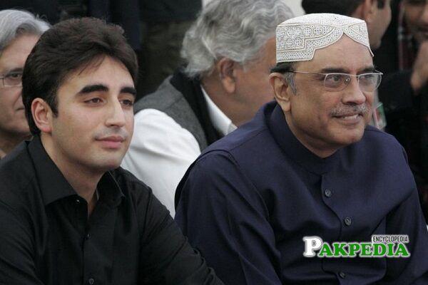 Bilawal Bhutto Zardari Father