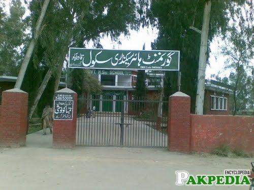 Educational institute in qadir abad
