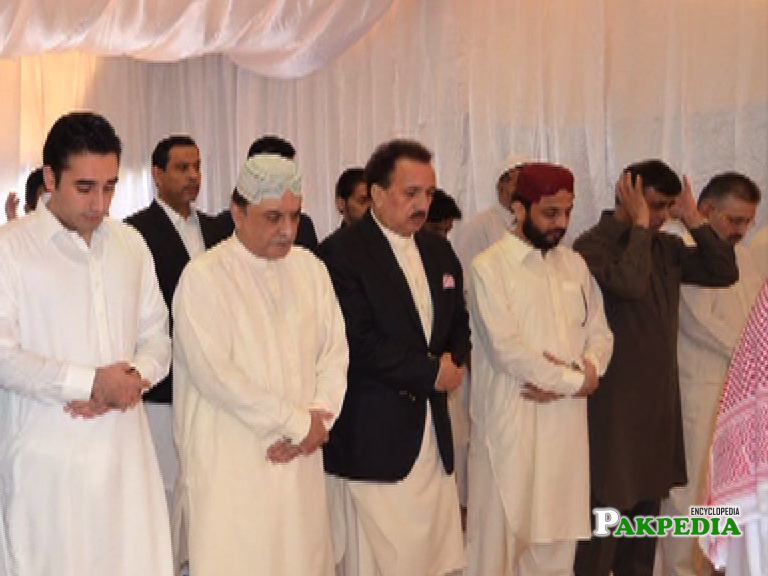 Celebrates Eid with PPP Leaders