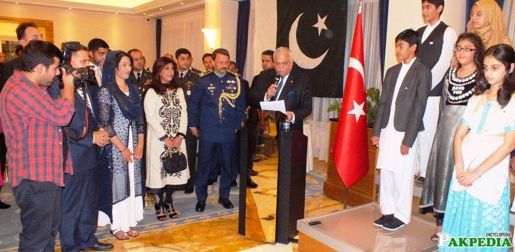 A Ceremony at Embassy of Turkey