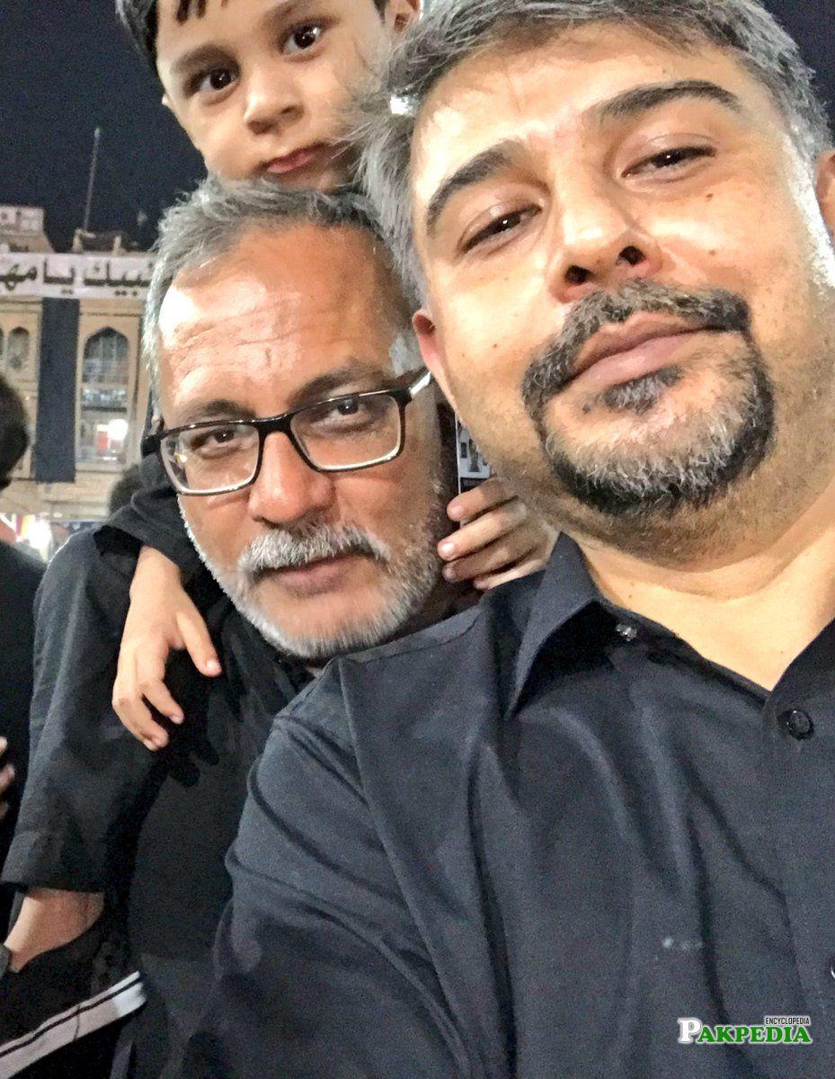 with Haider Rizvi