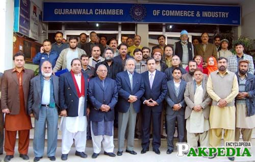 Wajjihudin in gujranwala bar council