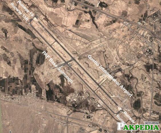 Quetta International Airport Map