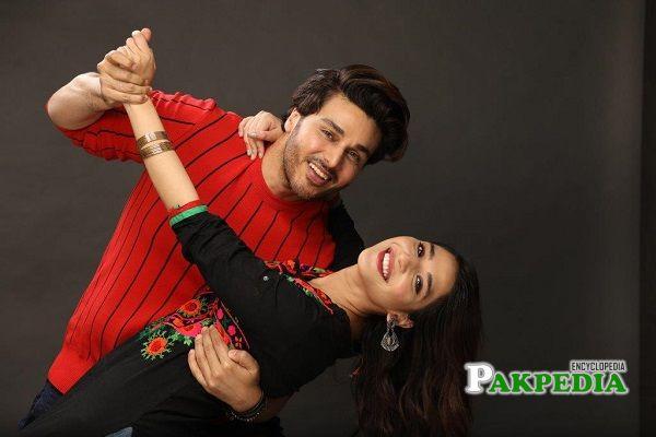 Ramsha with Ahsan Khan