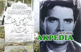 Grave of Syed Moosa raza