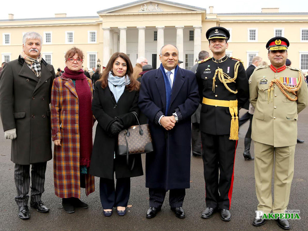 Thirty one officers of British Army officers completed their training course under the supervision of Major Uqbah Malik, of Pakistan Army
