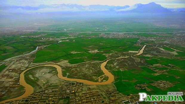 Kabul River Over View