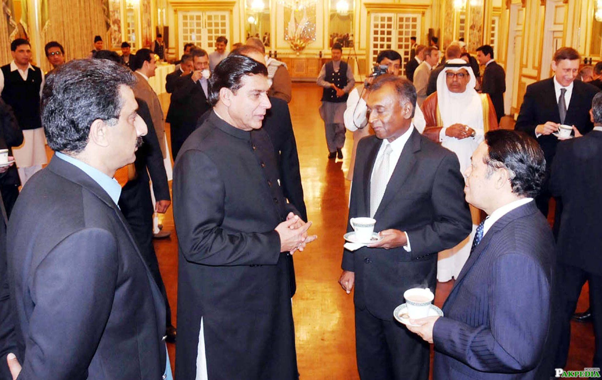 Raja Pervaiz Ashraf Former Pakistani Prime Minister