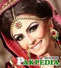 Faryal makhdom in bridal dress