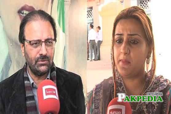 Azma Bokhari Family