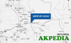 Mirpur Khas's map
