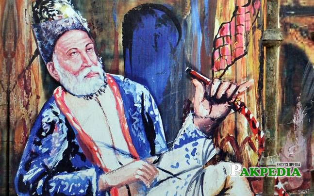 Ever green poet Mirza Ghalib