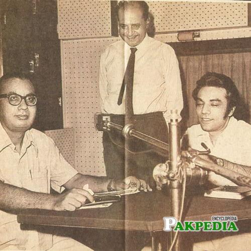 Zia Muhiuddin and Ibn-e-Insha Ghab Ghab Gharyalwi ki yaad main by Faraz Beg