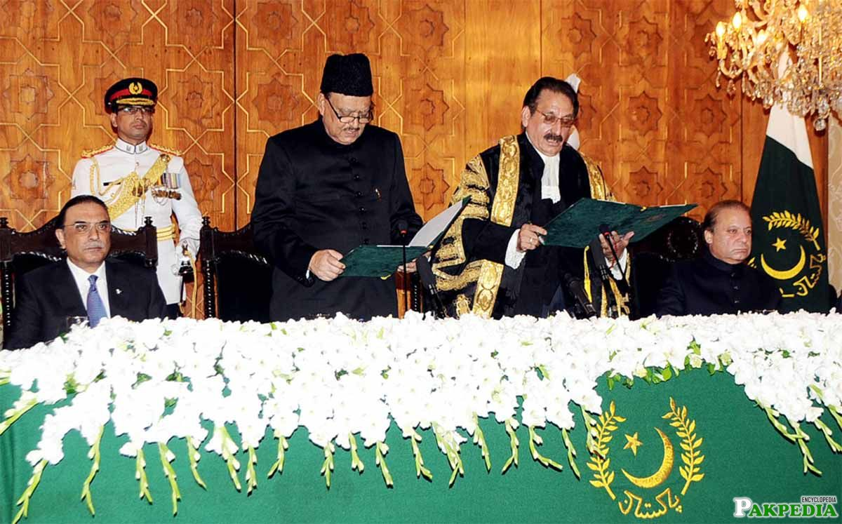 Administering Oath