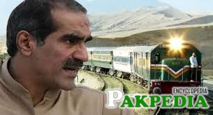 Minister for Railways Khwaja Saad Rafique
