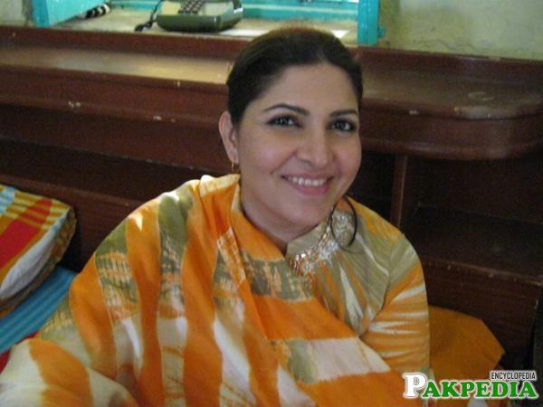 Shagufta Ejaz runs her own beauty salon in Karachi
