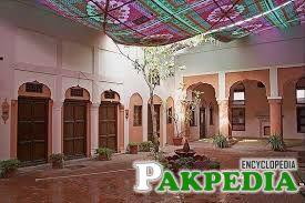 courtyard of haveli