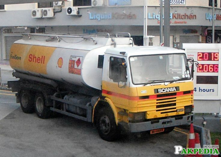 Shell Oil Tankers