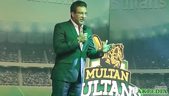 Waseem Akram Multan Sultan's Team Director